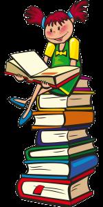 Tyttö ja kirjat